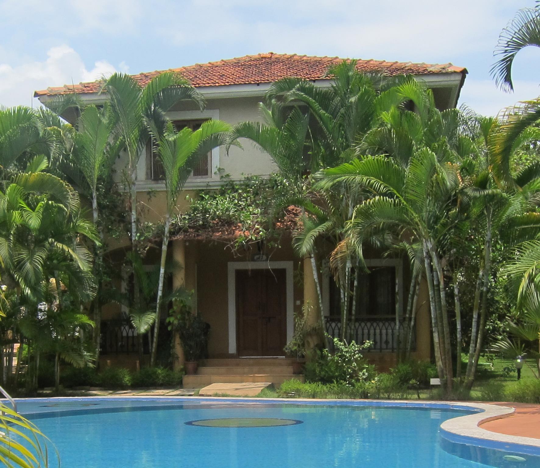 Luxury Designer Villa Fountain Court Anjuna Goa India