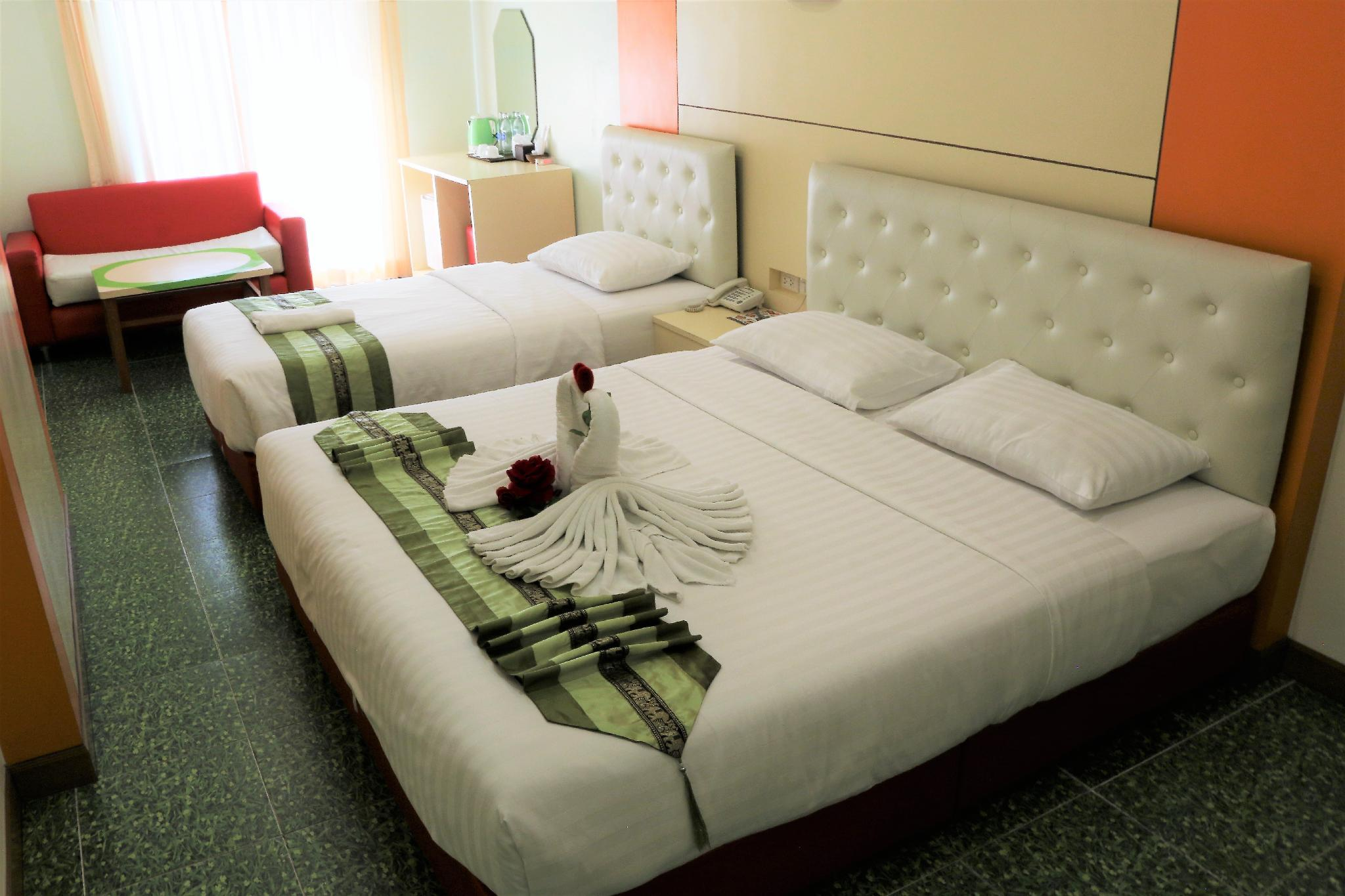 โรงแรมลัคกี้ กรีน วิว