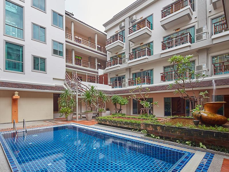 Hotel Murah di Pantai Dong Tarn Pattaya - The Agate Pattaya Boutique Resort