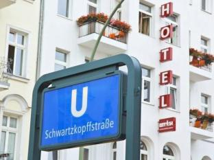 City54 Hotel & Hostel Berlin - Hotellet udefra