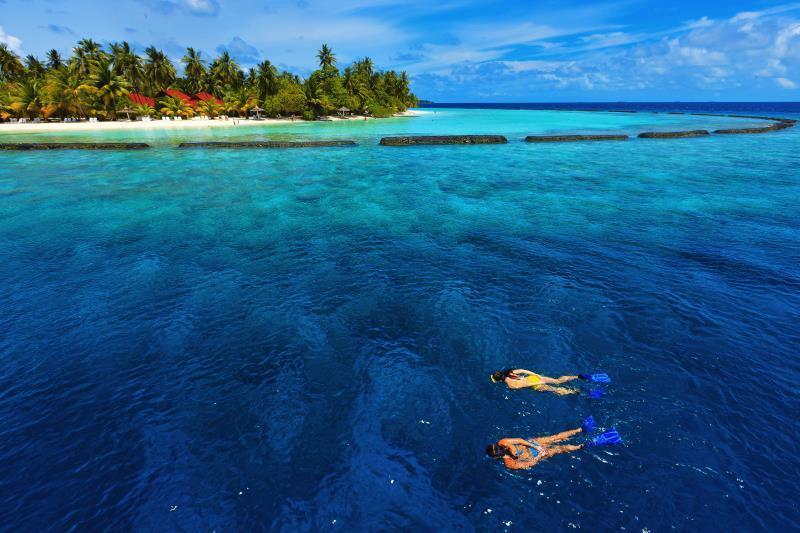 Kurumba Maldives Maldives Islands Map
