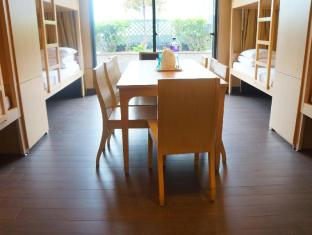 Noah's Ark Resort Hong Kong - Table inside 8-bed dormitory room