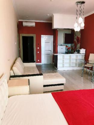 Apartment-studio Akter Galaxy red