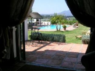 Bellevue Manor Holistic Wellness Retreat Stellenbosch - View for Guest Room