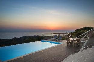 New Entheos Private Villa with sea views and pool