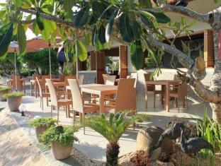 Linaw Beach Resort and Restaurant Panglao Island - מסעדה