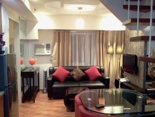 East of Galleria Condominium Manila - Living Room Loft Type