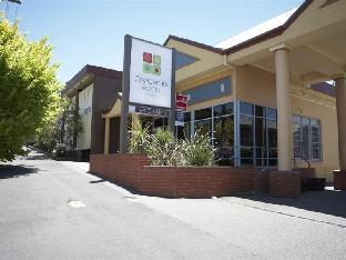 Hotell City Centre Motel  i Bendigo, Australien