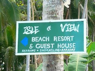 Isle of View Beach Resort And Guesthouse Loon - Signage to Isle of View