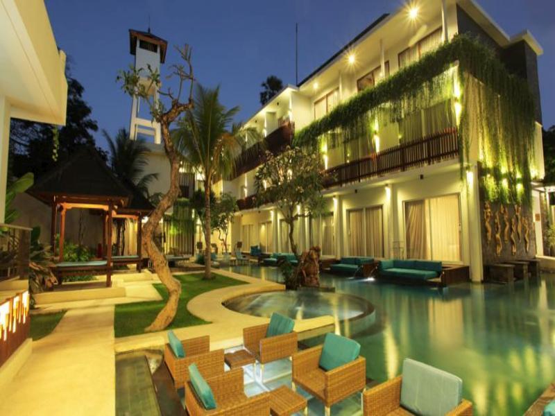 Aquarius star hotel kuta bali indonesia for Five star hotels in bali indonesia
