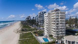 Hotell Beachfront Viscount Apartments  i Gold Coast, Australien