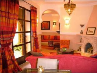 Riad Rabah Sadia Марракеш - Інтер'єр готелю