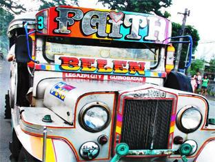 Balay de la Rama Bed and Breakfast Daraga - Colorful Jeepney