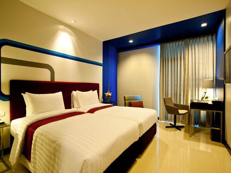 【Sukhumvit Hotel】FX ホテル メトロリンク マッカサン(Unico Premier MetroLink)
