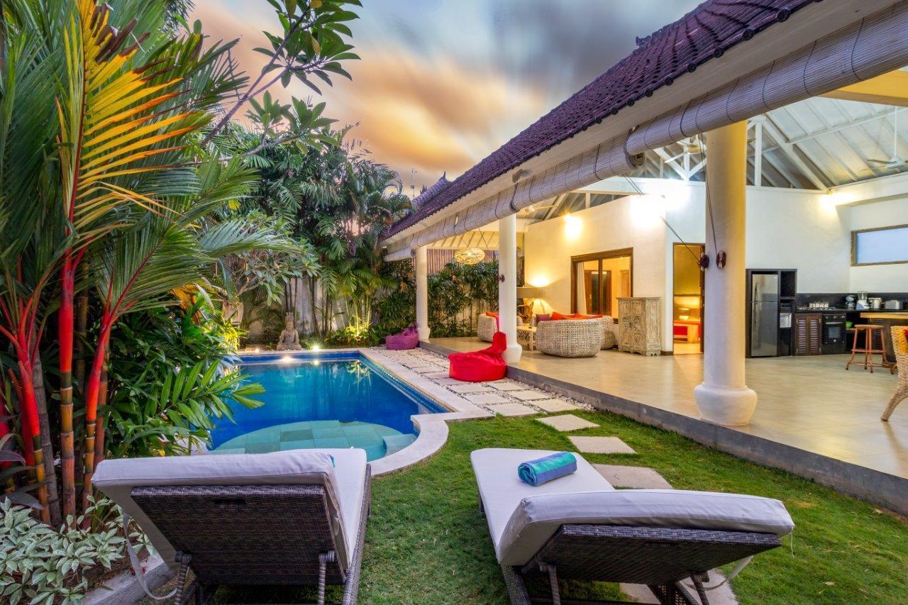 Beautiful 2 Bedroom Villa Private Pool in Seminyak