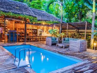 Samal Island Huts Davao City - Kolam renang