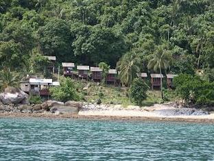 Tanjong Inn Tioman Island - View from the Sea