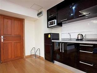 Emerald Palace - Serviced Apartment Pattaya - Kitchen