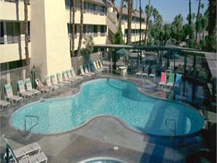 room of Vagabond Inn Palm Springs