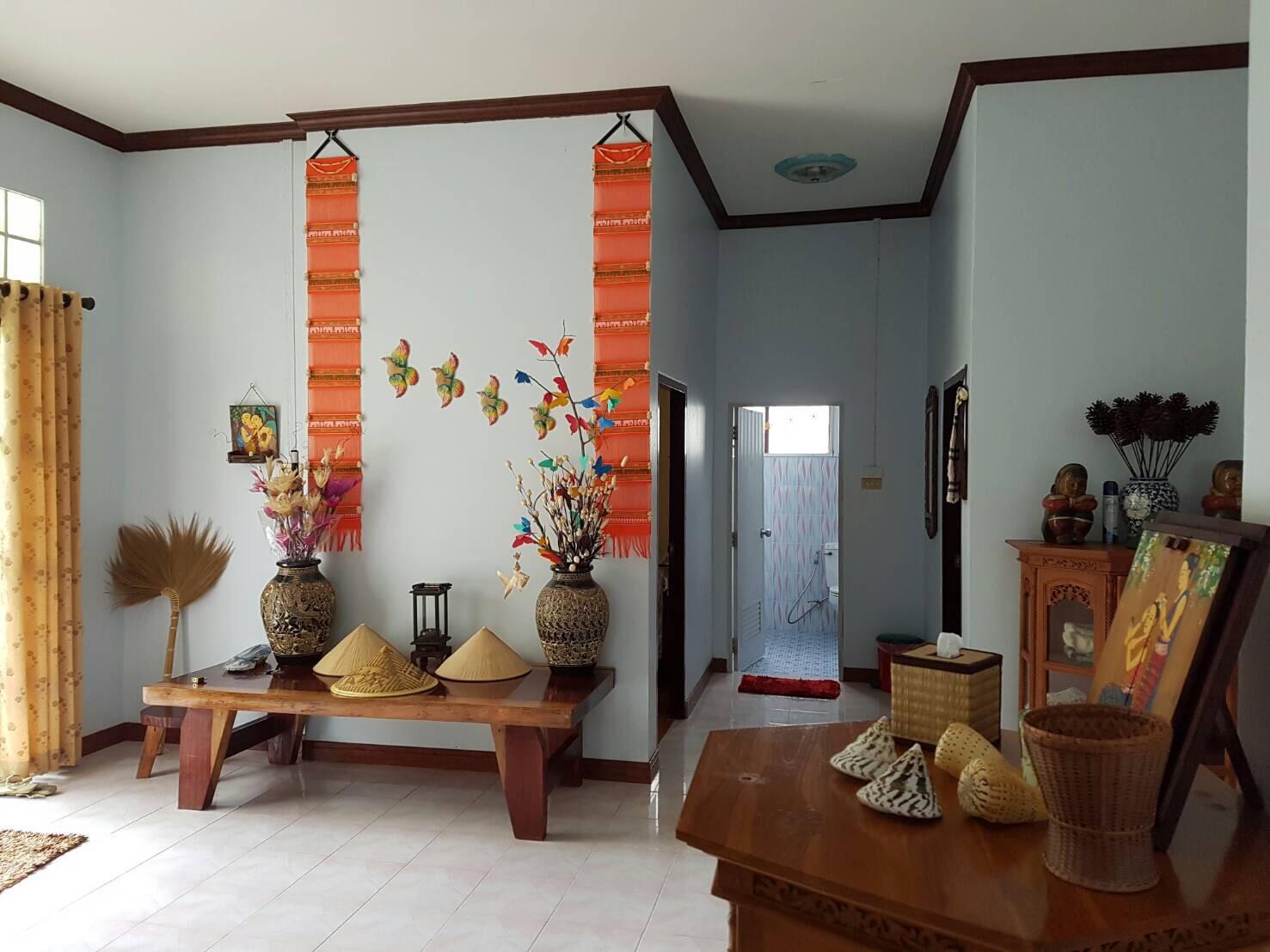 Bangsaphan Paradise Green Villa,บ้าน 2 ห้องนอน 1 ห้องน้ำส่วนตัว ขนาด 3200 ตร.ม. – บางสะพาน