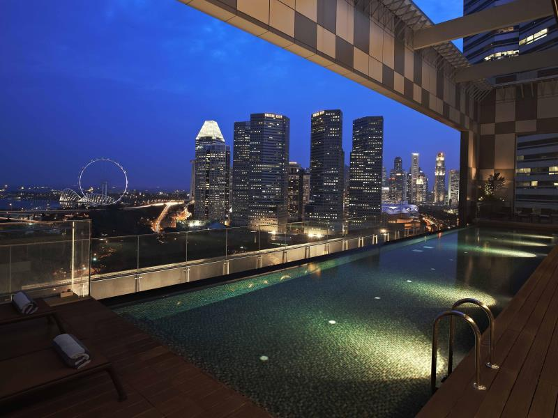 Pan Pacific Serviced Suites Beach Road, Singapore Singapore Map