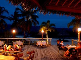 Badian Island Wellness Resort Badian - Dinner at the Beach Bar
