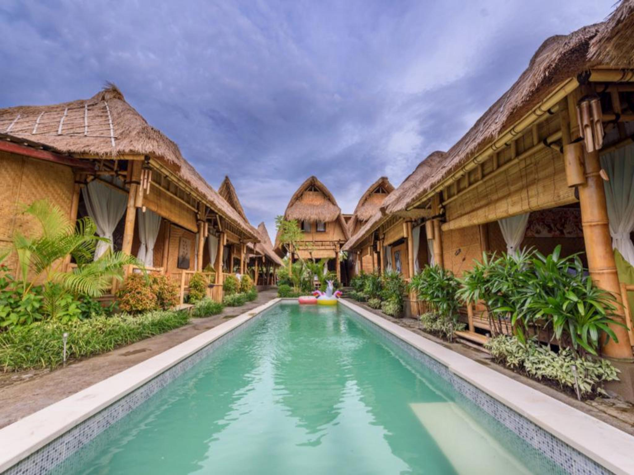 Moon Bamboo Villas Bali 2 Star Hotel In Bali Indonesia