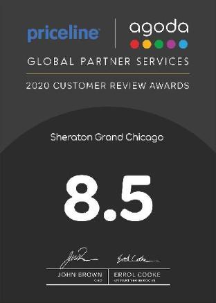 room of Sheraton Grand Chicago