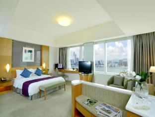 Metropark Hotel Causeway Bay Hong Kong - Executive Parlour Bedroom