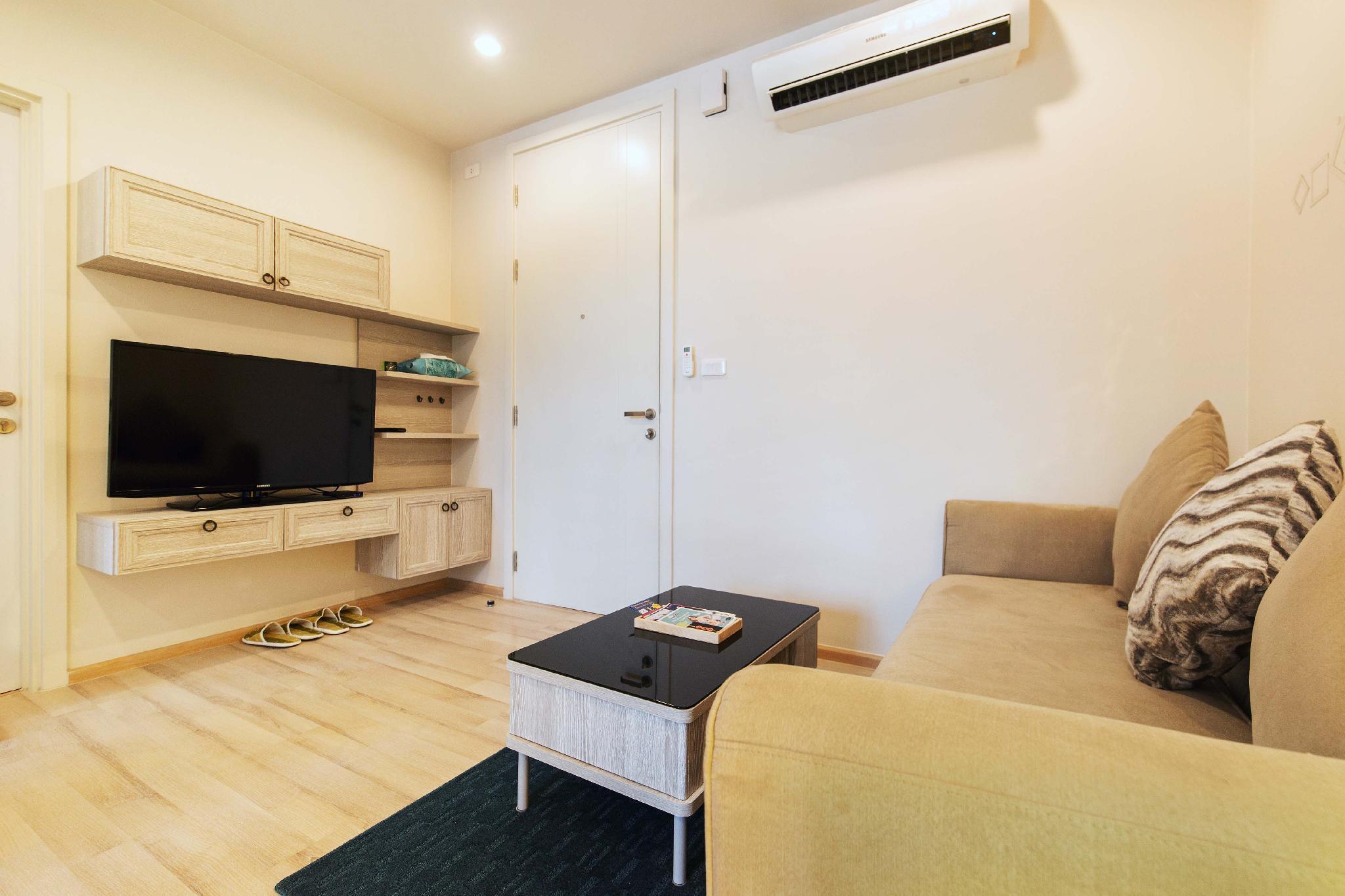 อพาร์ตเมนต์ 1 ห้องนอน 1 ห้องน้ำส่วนตัว ขนาด 35 ตร.ม. – ภูเก็ตทาว์น