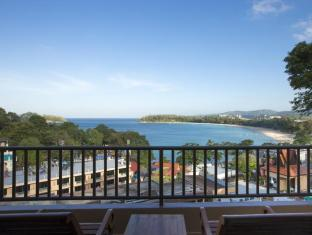 Chanalai Garden Resort, Kata Beach Phuket - Deluxe Sea View Room - Private Balcony