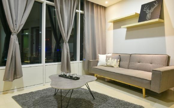 Vortex Suites KLCC   Luxurious 3BR KL Tower View