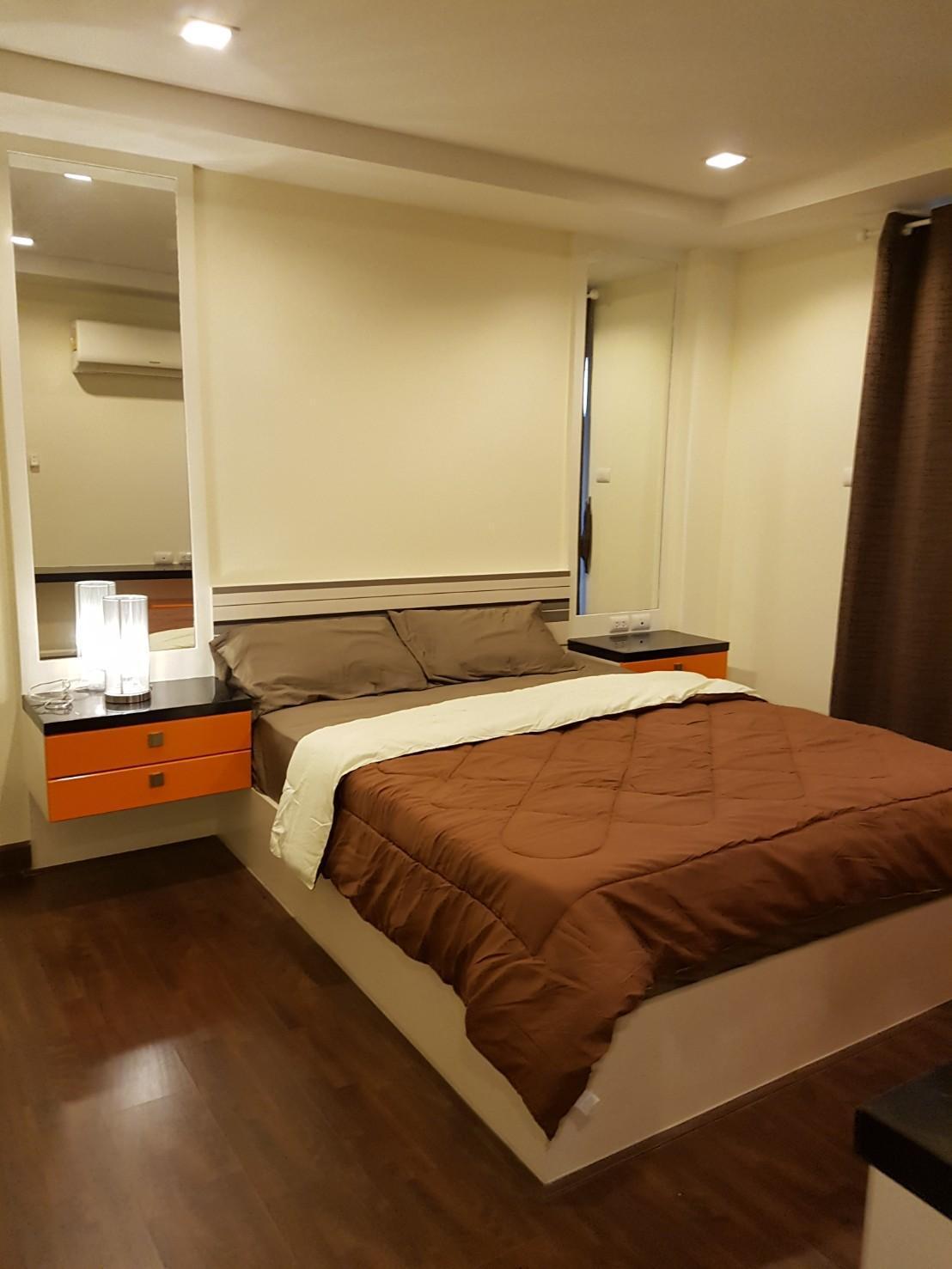 อพาร์ตเมนต์ 1 ห้องนอน 1 ห้องน้ำส่วนตัว ขนาด 51 ตร.ม. – บางแสน
