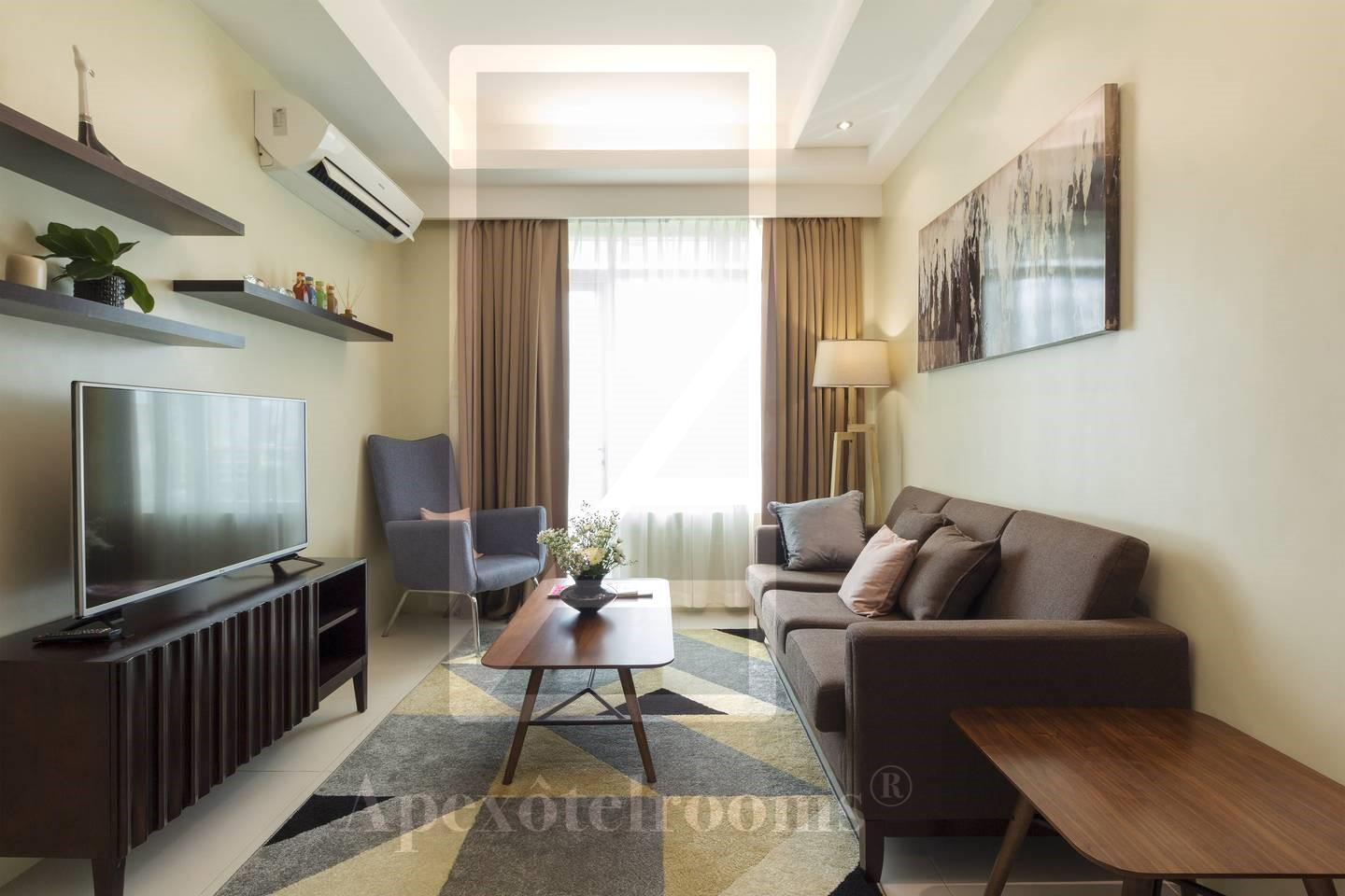 Apartment near Ayala Padgett Place big new sunny - Hotels Information/Map/Reviews/Reservation