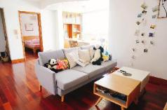 Downtown apt with beautiful city view & 100 books, Sanming