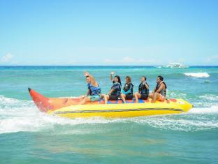 Bohol Beach Club Resort Panglao Island - banana boat ride