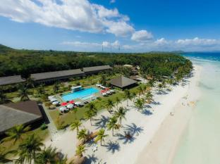 Bohol Beach Club Resort Panglao Island - aerial view with beach