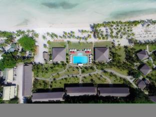 Bohol Beach Club Resort Panglao Island - aerial view of the resort