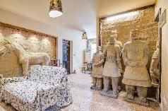 The Terra Cotta Warriors in xian apartment, Xian