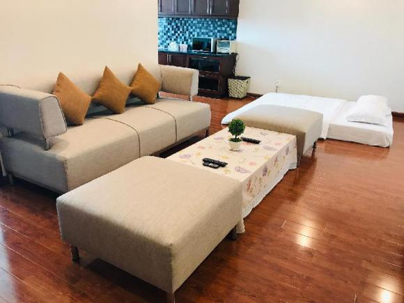 Serviced apartment behind Bui Vien Street