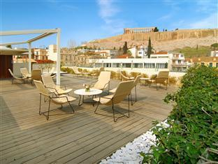 Herodion Hotel Athens - View on the Acropolis