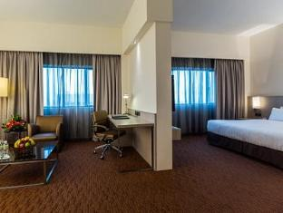 Sunway Hotel Seberang Jaya Penang - Suite Room-Bed & Living room