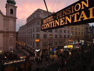 Hotel Pension Continental Vienna - Street