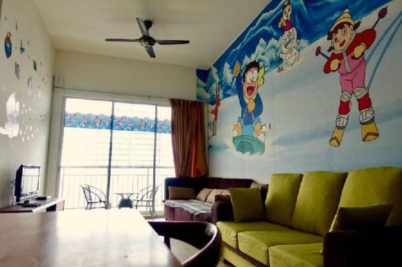 Cameron Doraemon Theme Apartment, Golden Hill