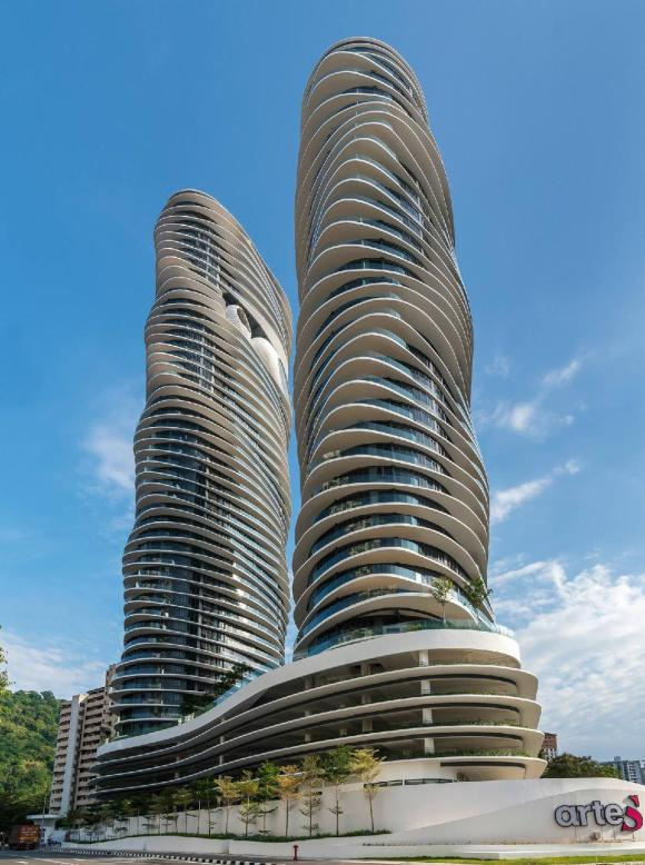 Arte S, Magnificent Building in Penang