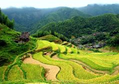 Laojia, a Yao ethnic village , Guilin