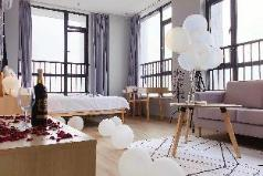 Swallow's nest. Dream man, Nordic night view room., Shijiazhuang