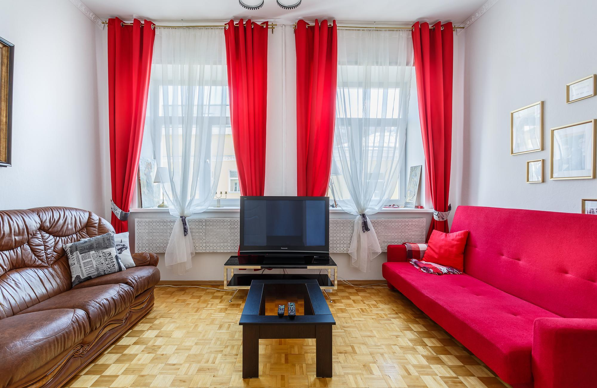 ART-DEKO APARTMENT On The Moscow River Embankment Moscow Russia