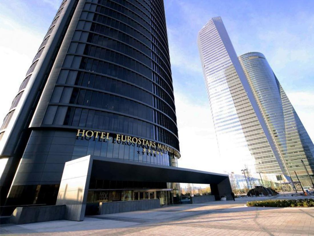 Best Price On Eurostars Madrid Tower Hotel In Madrid Reviews