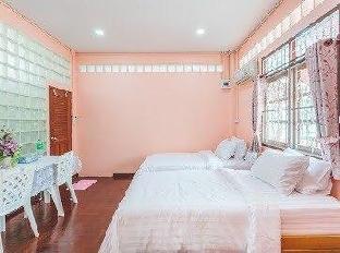 [Bang Na]一軒家(30m2)| 1ベッドルーム/1バスルーム Bangkok homestay near MRT,twin,free breakfast,WiFi